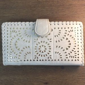 New Madison West Wallet Cream Gold